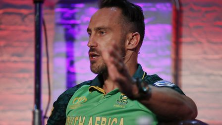 South Africa's Faf du Plessis. Picture: PA SPORT