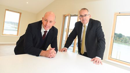 Julian Wells of FW Properties, pictured left,said the building was too big for prospective buyers Pi