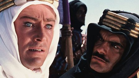 Peter O'Toole in Lawrence of Arabia, one of the greatest bio-pics wever made. Photo: Columbia Pictur