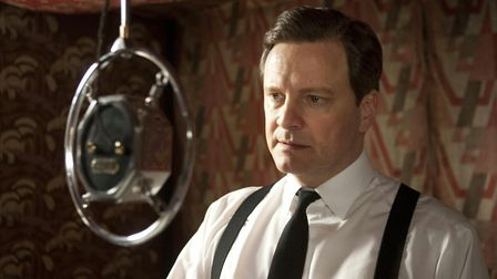The King's Speech. Pictured: Colin Firth as Bertie (King George VI). PA Photo/Momentum Pictures