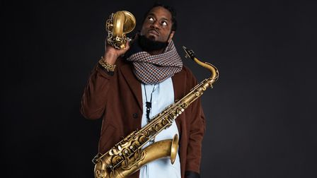 Soweto Kinch will be performing at The Pumphouse in Aldeburgh as part of an alternative Aldeburgh Fe