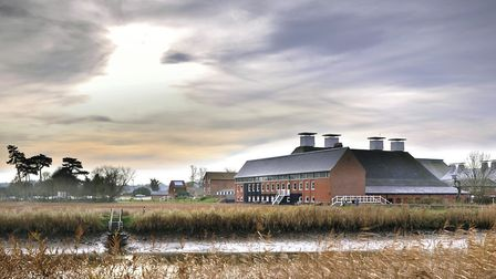 Snape Maltings and the River Alde from the Sailor's Path - the location for listening walks during