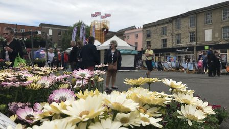 Traiditonally the Whitsun Fayre was for flower and garden lovers but has grown into a fun family day