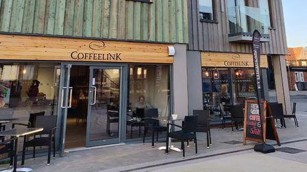 The development has already welcomed new businesses including Coffeelink Picture: JADE PHAIR