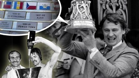 Ipswich Town won the UEFA Cup in 1981. Picture: ARCHANT
