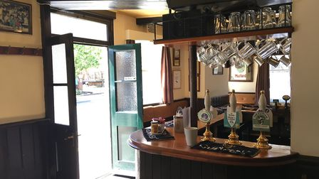 The Rose and Crown pub in Bury St Edmunds opens onto Westgate Street Picture: MARIAM GHAEMI