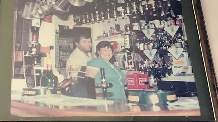 Liz and Tony Fayers in the 1980s.