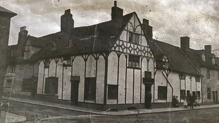 The Rose and Crown in the 1800s.