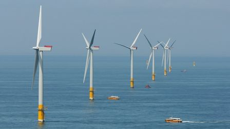 Great Gabbard offshore wind farm off Suffolk could be set for further expansion Picture: ARCHANT ARC
