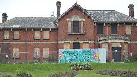 Belle Vue House is just one of the empty properties in Suffolk which tax payers are forced to pay fo