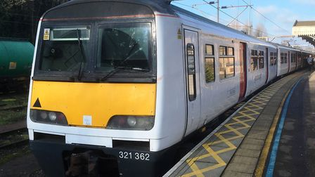 Passengers from Ipswich Station currently have to rely on suburban trains at weekends. Stock image.