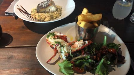 Mains at Steak Lobster & Co PICTURE: Archant