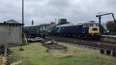 The BBC progamme Bodyguard was filmed at Dereham on the Mid Norfolk Railway . Picture: Archant