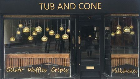 Tub and Cone in Colchester is opening in Crouch Street this month. Picture: KIRAN SYED