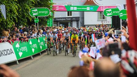 Find out how you can win VIP tickets to the Women's Tour at Stowmarket. Picture: OVO ENERGY WOMEN'S