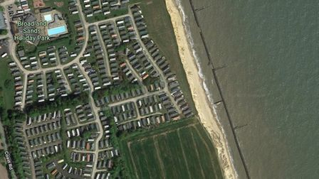 Broadland Sands Holiday Park, in Corton near Lowestoft, is hoping to move 38 of its caravans further