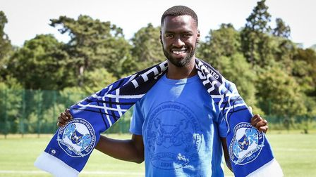 Peterborough United paid a club-record fee to sign striker Mo Eisa from Bristol City. Picture: PETER