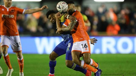 Blackpool have signed forward Adi Yussuf (left) from non-league side Solihull Moors having faced the