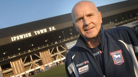 EADT/STAR Warner Duff, founder of Ipswich Town Disabled Football Club, has made it to the final o