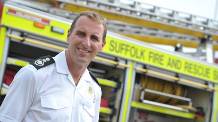 Mark Hardingham from Suffolk Fire and Rescue Picture: SARAH LUCY BROWN