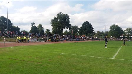 Ipswich Town will face Paderborn at the Cronsbachstadion in Steinhagen. Picture: TWITTER