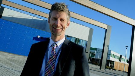 Previous headteacher Andy Prestoe left suddenly in February 2018 Picture: ANDY ABBOTT