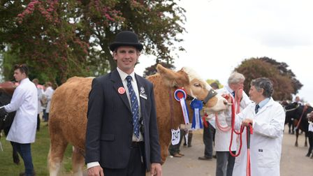 James Strachan at the Suffolk Show 2019 Picture: SARAH LUCY BROWN