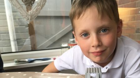 Oliver Hall lost his short battle with Meningitis B in October 2017 Picture: BRYAN AND GEORGIE HALL