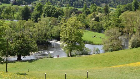 Horseshoe Falls on the River Dee Picture: JIM ROBERTS
