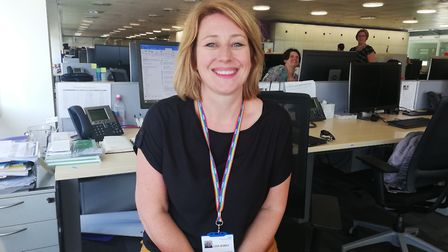 Lisa Nobes, chief nurse of the Ipswich and East Suffolk and West Suffolk CCGs Picture: IESCCG