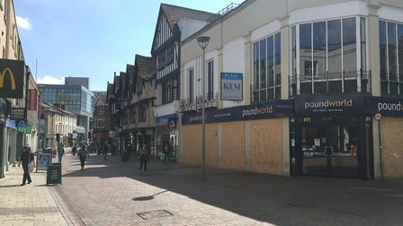Ipswich's high street Picture; ARCHANT