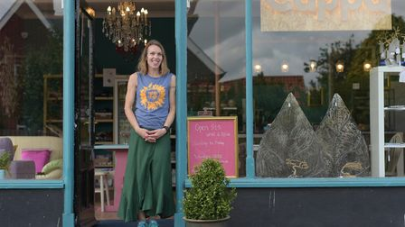 Sarah Fitch, owner of new cafe Cuppa Picture: SARAH LUCY BROWN
