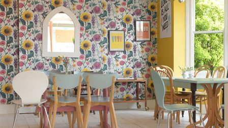 Inside Cuppa in High Road West Picture: SARAH LUCY BROWN