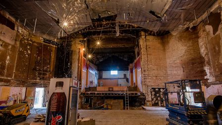 The former Winners Bingo space will be incorporated into the cinema/restaurant Picture: BERNARD WRIG