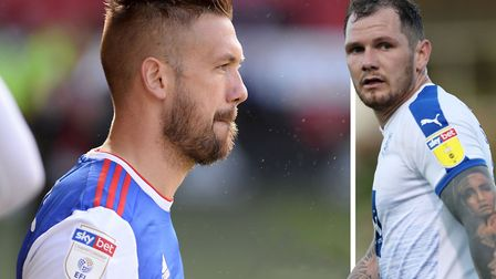 Luke Chambers and James Norwood. Will add the necessary physicality to the Town side in League One.