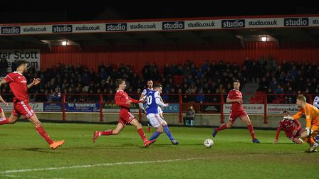 Ipswich were beaten at Accrington in last season's FA Cup. Picture Pagepix