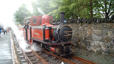 The Ffestiniog Railway - Paul Geater travelled on it during a family holiday in north Wales. Picture