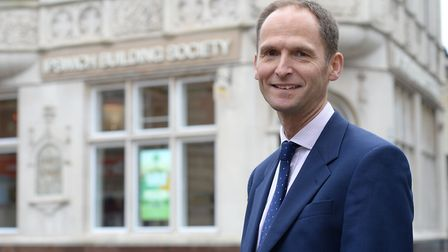 Chief executive of Ipswich Building Society, Richard Norrington Picture: WARREN PAGE
