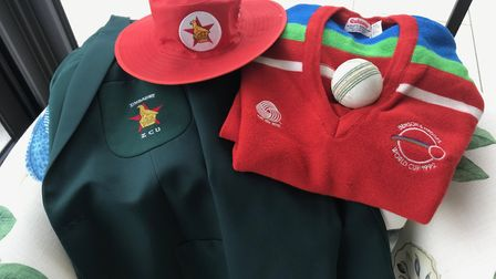 Kit from the 1992 World Cup which was the first to bring in coloured clothing and it was popular.