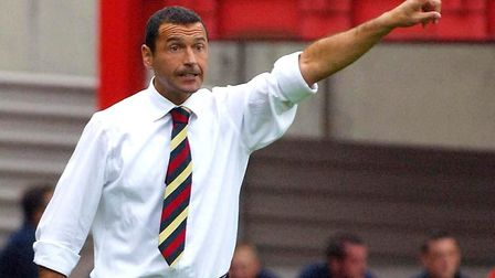 Forest spent three seasons in League One, getting promoted under manager Colin Calderwood. Photo: PA
