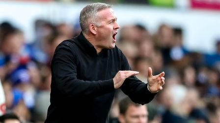 Paul Lambert will attempt to lead Ipswich Town out of League One next season. Picture: STEVE WALLER