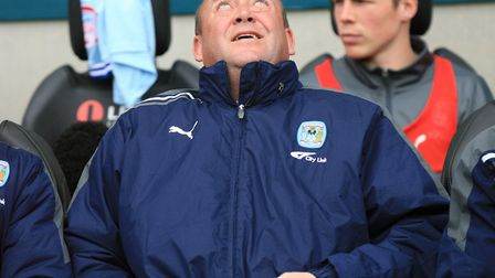 Coventry City dropped out of the Championship under manager Andy Thorn in 2011/12. Photo: PA
