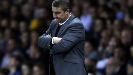 Blackpool were relegated under Lee Clark's management in 2014/15. Photo: PA
