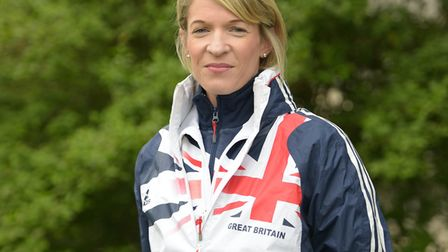 Helen Davies, in her Great Britain kit. Picture: SARAH LUCY BROWN