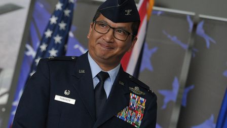 Incoming Commander Colonel S Troy Pananon Picture: SARAH LUCY BROWN