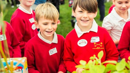Children having fun at Essex Schools Food & Farming Day Picture: VICKY HOLMES PHOTOGRAPHY