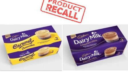 Suffolk Trading Standards have warned consumers about a batch of Cadbury's desserts. Picture: SUFFOL