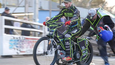 David Bellego has been released by Ipswich Witches. Picture: STEVE WALLER