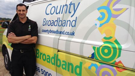 County Broadband engineers operate across Essex and surrounding rural areas, providing 3,000 East An