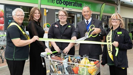 Central England Co-Operative has opened a new £1.4m store in Stowupland, Suffolk. The store was open